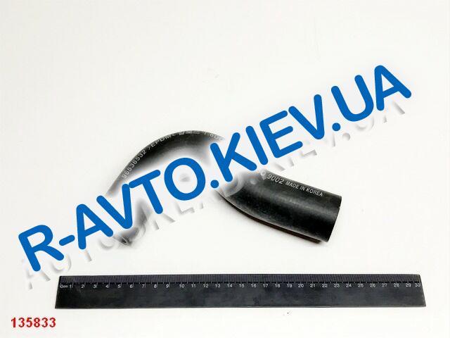 """Патрубок радиатора Aveo 1.6 верхний с конд., """"DYC"""" Корея (96536532)"""