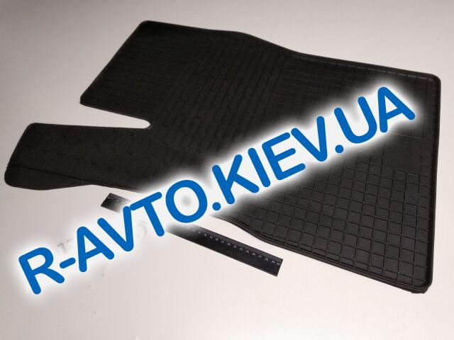 Коврики в салон резиновые STINGRAY BUDGET, Nexia|Vektra A|Kadett E|Astra F водительский