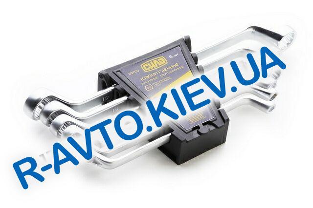 Ключи (набор) СИЛА (201333) 6 шт.  в пластике|Cтандарт|накидные