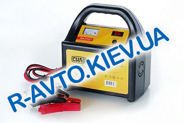 Зарядное устройство СИЛА 15A  6V-24V (900207) стрелочный индикатор