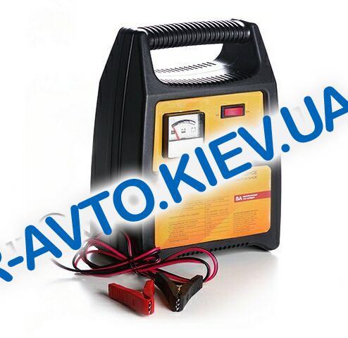 Зарядное устройство СИЛА  8A  6V-12V (900209) стрелочный индикатор