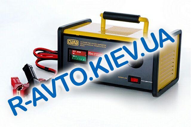 Зарядное устройство СИЛА 15A 12V-24V (900211) пуско-зарядное|светодиодный индикатор
