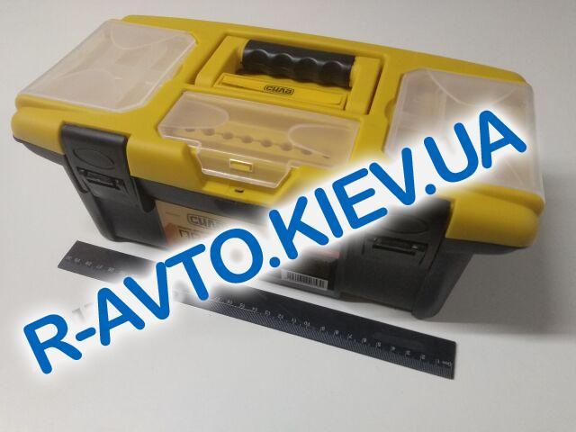 """Ящик для инструмента СИЛА (330107) 13"""""""" (340*180*130мм) """"Профи"""""""
