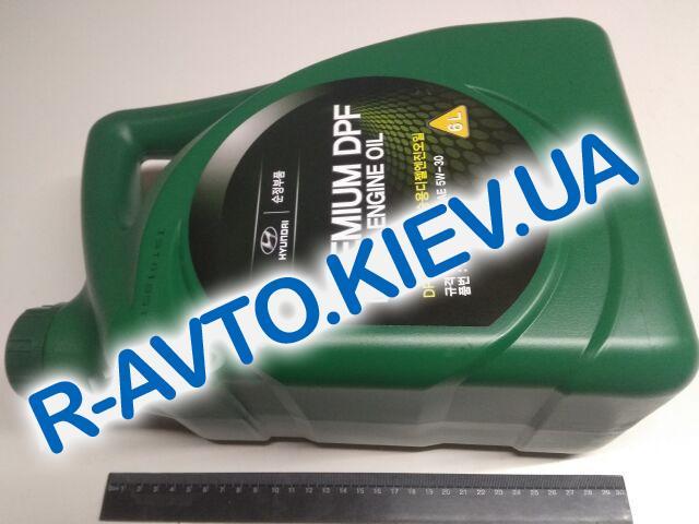 Масло моторное  5W-30 синт. HYUNDAI Premium DPF Diesel  6л