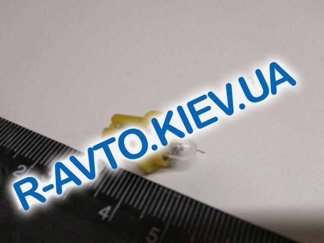 Лампа бесцокольная BOCXOD 12V 1,5W BХ8,5D с патроном (82791)