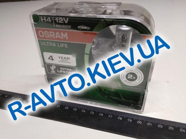 Лампа OSRAM H4 12v 60|55-43 Ultra Life (64193 ULT) пара