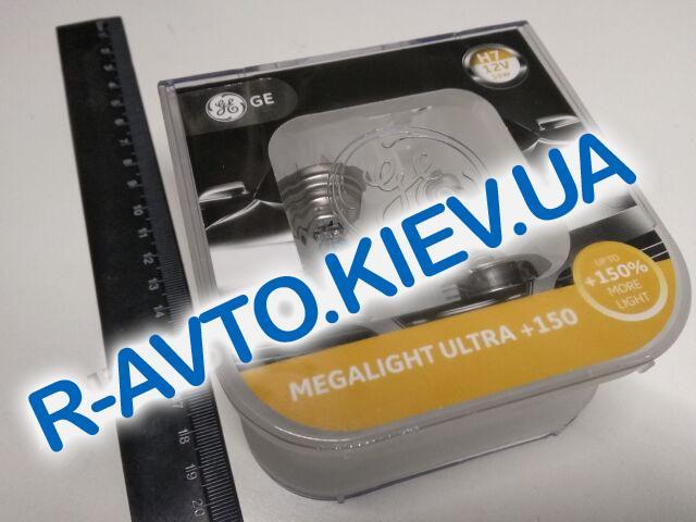 Лампа General Electric H7 12V 55W Megalight Ultra +150% (58520NXNU.2D) пара
