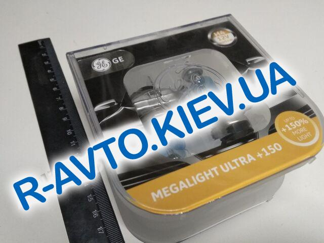 Лампа General Electric H4 12V 60|55-43 Megalight Ultra +150% (50440NXNU.2D) пара