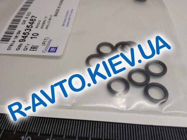 """Кольцо уплотнительное трубки кондиционера Aveo, """"GM"""" Корея (94535487) к радиатору"""