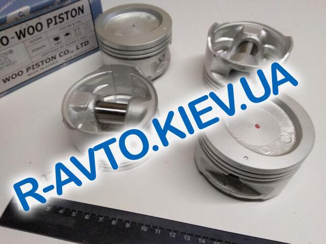 """Поршень Aveo 1.5  76,75 1-й рем., """"SWP"""" Корея (93740221) с пальцем под кольца Lanos 1.5"""