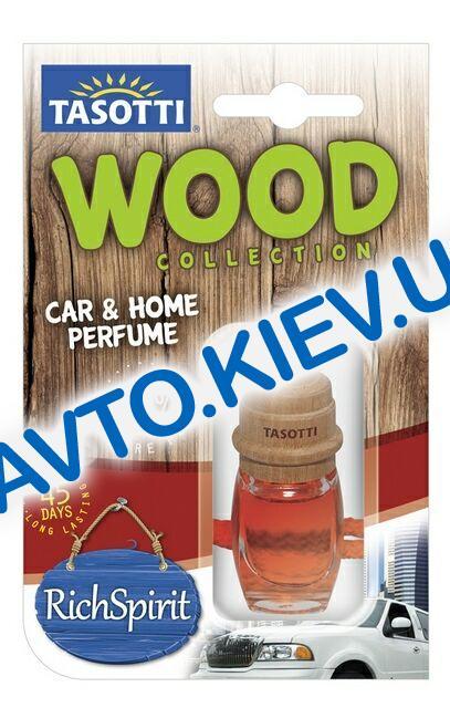 """Освежитель воздуха TASOTTI """"Wood"""" Rich-Spirit  7 мл"""