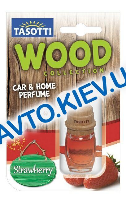 """Освежитель воздуха TASOTTI """"Wood"""" Strawberry  7 мл"""