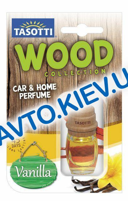 """Освежитель воздуха TASOTTI """"Wood"""" Vanilla  7 мл"""