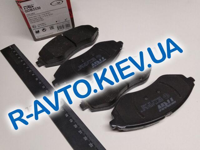 Колодки передние тормозные Aveo, TRW (GDB3330)