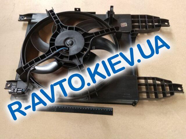 Диффузор радиатора Aveo T250 09- (с конд.) с мотором, PMC (PXNAC-034)