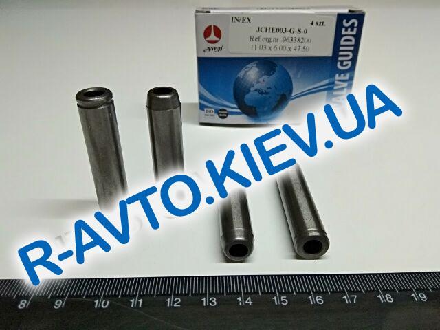 Втулки направл. клапанов Aveo 1.5, AMP (JCHE003-G-S-0) к-т 4 ш.
