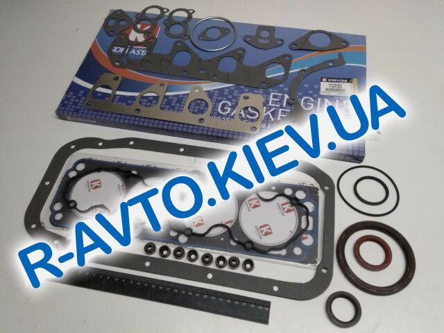 Прокладки дв-ля (полный к-кт) Aveo 1.5, KOREASTAR (KGSD-018) + сальники