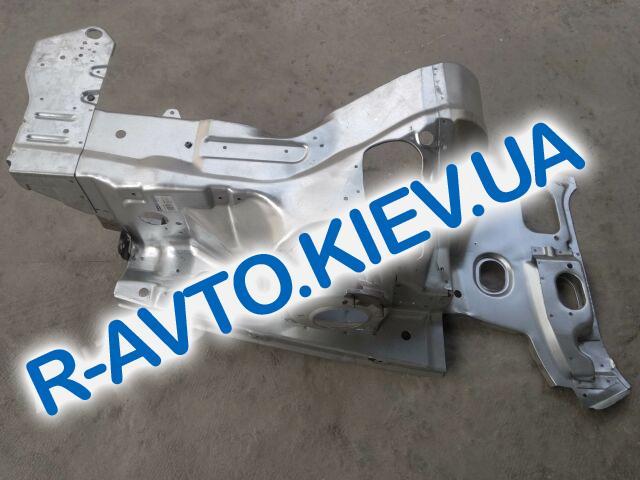 Брызговик (фартук) Lanos, АвтоЗАЗ (TF69Y0-8403261) передний левый