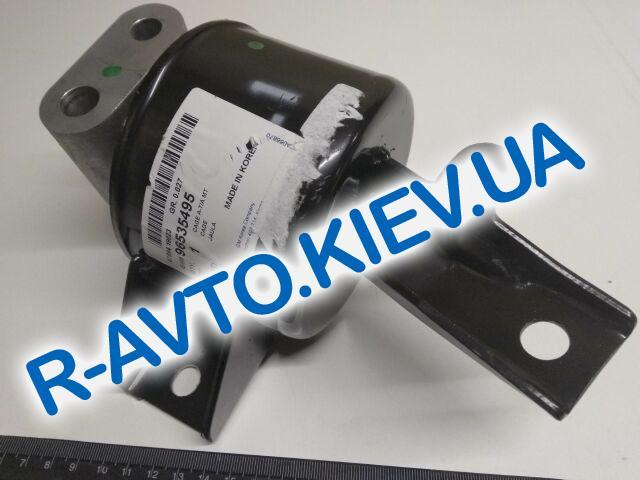 """Подушка двигателя Aveo передняя левая (МКПП), """"GM"""" Корея (96535495)"""