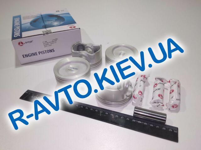 Поршень Aveo 1.5  77,00 2-й ремонт, AMP (PX-CHE-4F-1405-050) с пальцем
