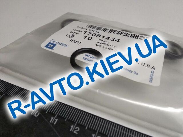 """Кольцо уплотнительное регулятора давления топлива Lanos 1.5-1.6, """"GM"""" Корея (17081434)"""
