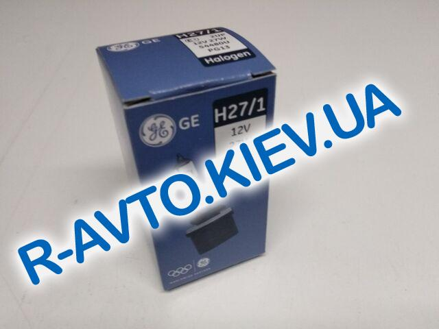 Лампа General Electric H27|1 12V 27W  Standart (54480U.1K)  1 шт.